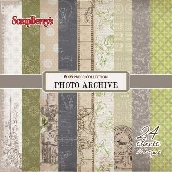 ScrapBerry`s - Paperpack - Photo Archive - SCB220606913