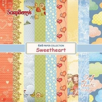 ScrapBerry`s - Paperpack - Sweetheart - SCB220606510
