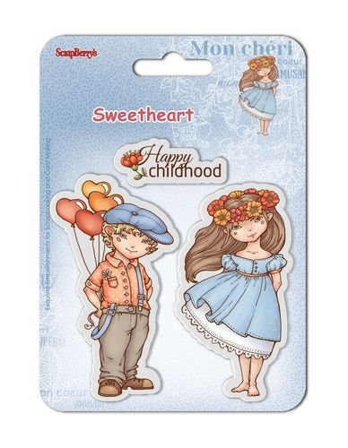 ScrapBerry`s - Clearstamp - Sweetheart No. 2 - SCB4907005B