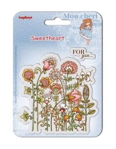 ScrapBerry`s - Clearstamp - Sweetheart No. 3 - SCB4907006B