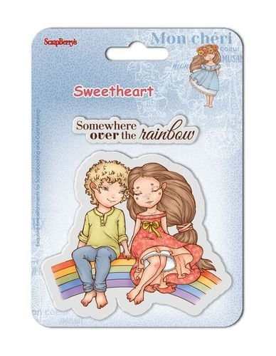 ScrapBerry`s - Clearstamp - Sweetheart No. 4 - SCB4907007B
