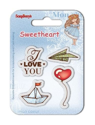 ScrapBerry`s - Clearstamp - Sweetheart No. 5 - SCB4907008B