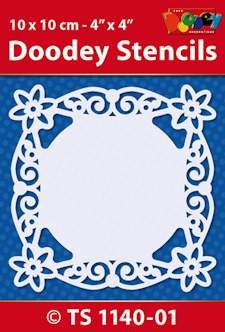 Doodey - Maskingstencil - Doily rond - TS1140-01