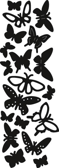 Marianne Design - Die - Craftables - Punch die - Butterflies