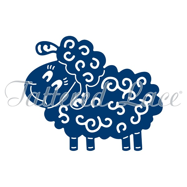 Tattered Lace - Die - Sheep