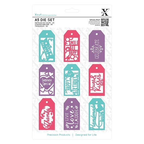 Docrafts - Xcut - Die set - Everyday Gift Tag Set