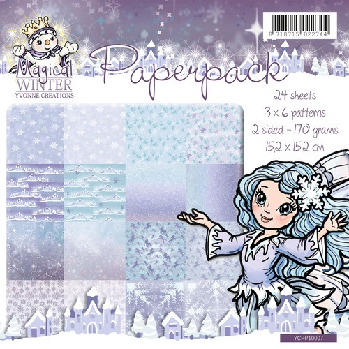 Yvonne Creations - Paperpack - Magical Winter - YCPP10007
