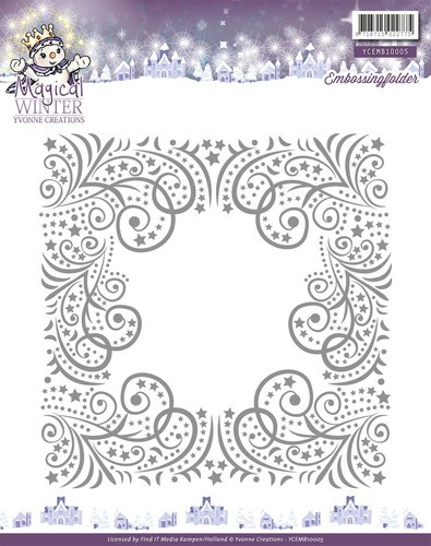Yvonne Creations - Embossingfolder - Magical Winter - YCEMB10005