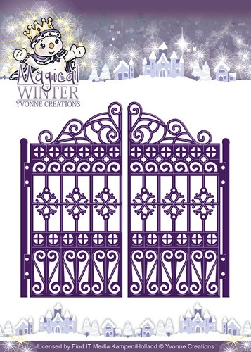 Card Deco - Yvonne Creations - Die - Magical Winter - Gate