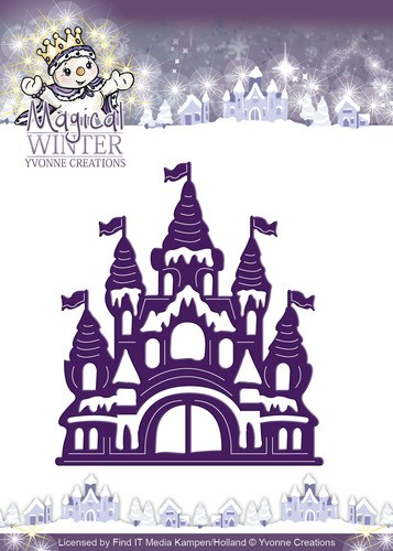 Card Deco - Yvonne Creations - Die - Magical Winter - Castle