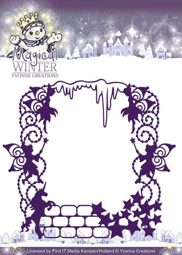 Card Deco - Yvonne Creations - Die - Magical Winter - Magical Frame