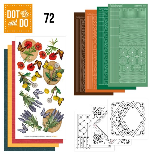 Card Deco - Kaartenpakketten - Dot & Do - No. 72 - Wild Flowers - DODO072