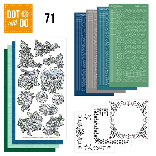Card Deco - Kaartenpakketten - Dot & Do - No. 71 - Flowers - DODO071