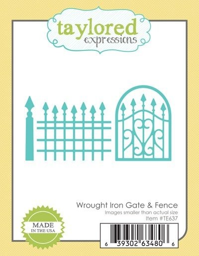 Taylored Expressions - Die - Wrought Iron Gate & Fence