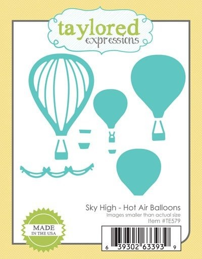 Taylored Expressions - Die - Sky High - Hot Air Balloons