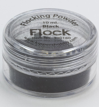 Kippers Hobby - Flocking Powder: Black - 390180