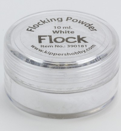 Kippers Hobby - Flocking Powder: White