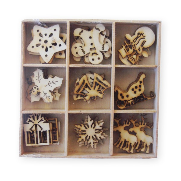 Crafts-Too - Wooden Ornaments - Christmas - CT23464