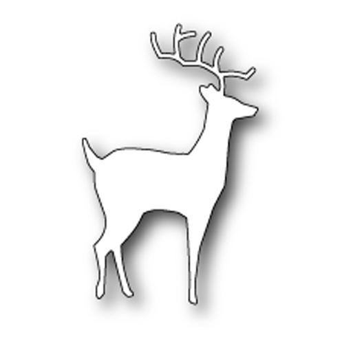 Memory box - Poppystamp - Die - Peaceful Deer