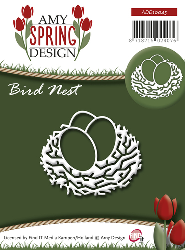 Amy Design - Die - Spring - Bird Nest - ADD10045