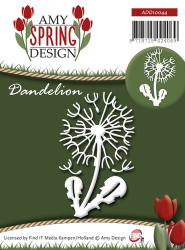 Card Deco - Amy Design - Die - Spring - Dandelion