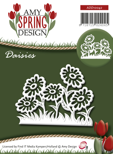Amy Design - Die - Spring - Daisies - ADD10042