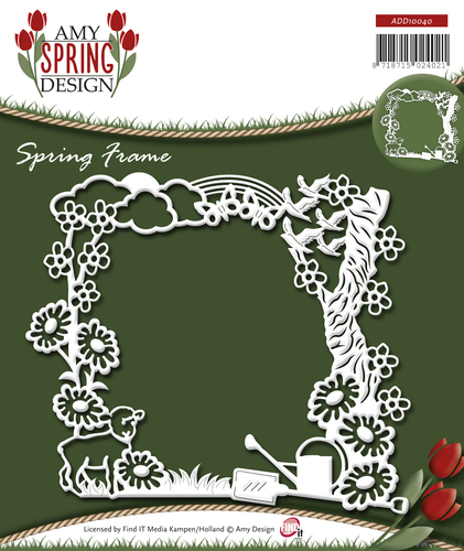 Card Deco - Amy Design - Die - Spring - Spring Frame - ADD10040