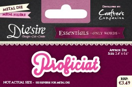 Die`Sire - Die - Essentials - Only Words - Proficiat - DS-E-W-30-NL