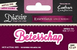 Die`Sire - Die - Essentials - Only Words - Beterschap - DS-E-W-31-NL