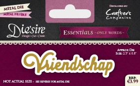 Die`Sire - Die - Essentials - Only Words - Vriendschap - DS-E-W-41-NL