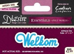 Die`Sire - Die - Essentials - Only Words - Welkom - DS-E-W-18-NL