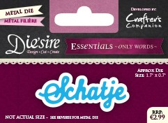 Die`Sire - Die - Essentials - Only Words - Schatje - DS-E-W-19-NL