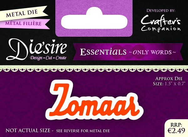 Die`Sire - Die - Essentials - Only Words - Zomaar - DS-E-W-10-NL