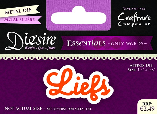 Die`Sire - Die - Essentials - Only Words - Liefs - DS-E-W-09-NL