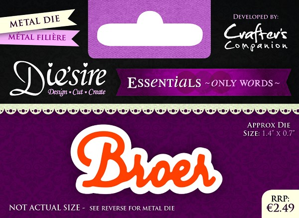 Die`Sire - Die - Essentials - Only Words - Broer - DS-E-W-07-NL