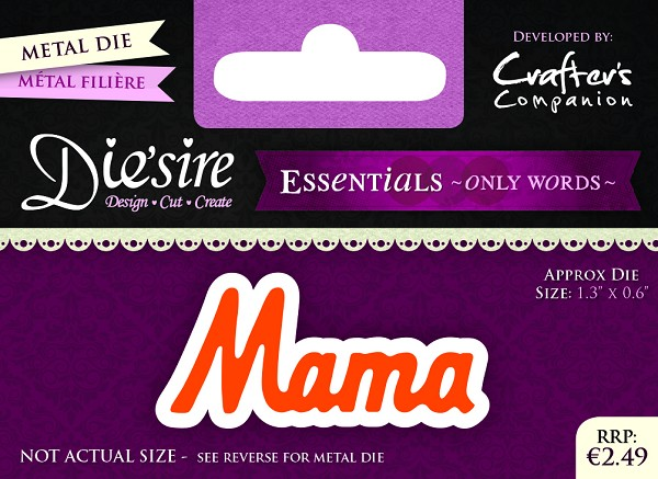 Die`Sire - Die - Essentials - Only Words - Mama - DS-E-W-06-NL