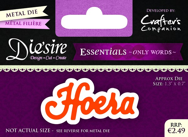 Die`Sire - Die - Essentials - Only Words - Hoera - DS-E-W-05-NL