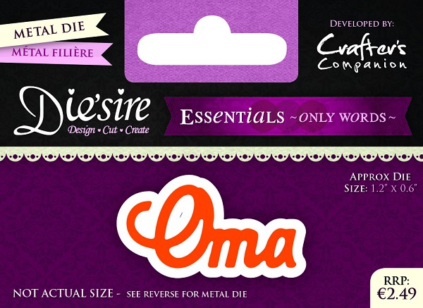 Die`Sire - Die - Essentials - Only Words - Oma - DS-E-W-03-NL
