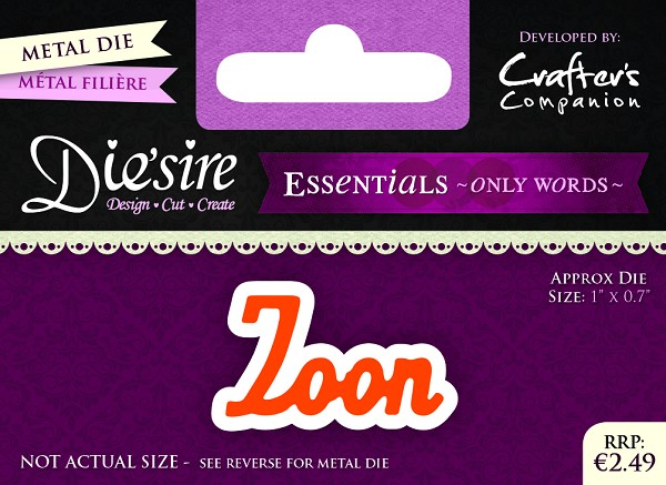 Die`Sire - Die - Essentials - Only Words - Zoon - DS-E-W-02-NL