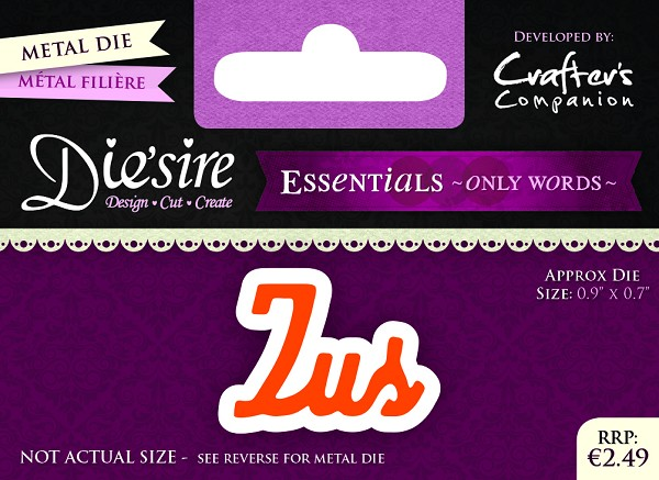 Die`Sire - Die - Essentials - Only Words - Zus - DS-E-W-01-NL