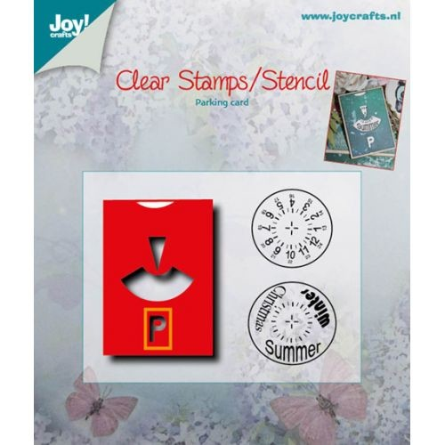 Joy! crafts - Die met clearstamp - Parkeerschijf - 6004/0003