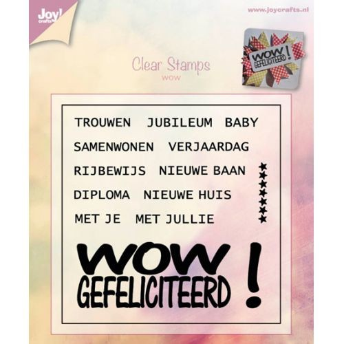 Joy! crafts - Clearstamp - WOW - 6410/0392