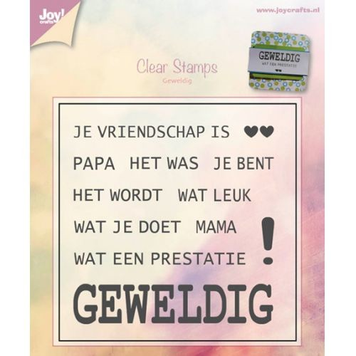 Joy! crafts - Clearstamp - Geweldig - 6410/0391