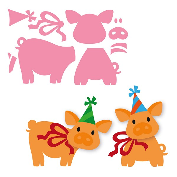 Marianne Design - Die - Collectables - Eline`s piglet
