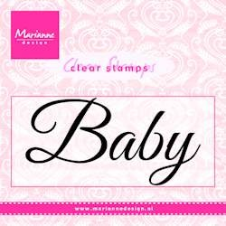 Marianne Design - Clearstamp - Baby - CS0958
