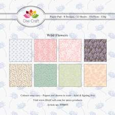 Dixi Craft - Paperpack - Wild flowers - PP0055