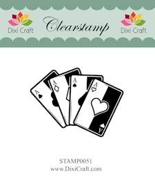 Dixi Craft - Clearstamp - Playing Cards - STAMP0051