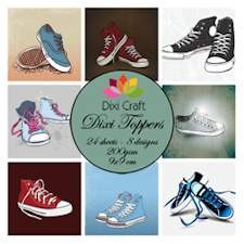 Dixi Craft - Paperpack - Shoes - ET0261