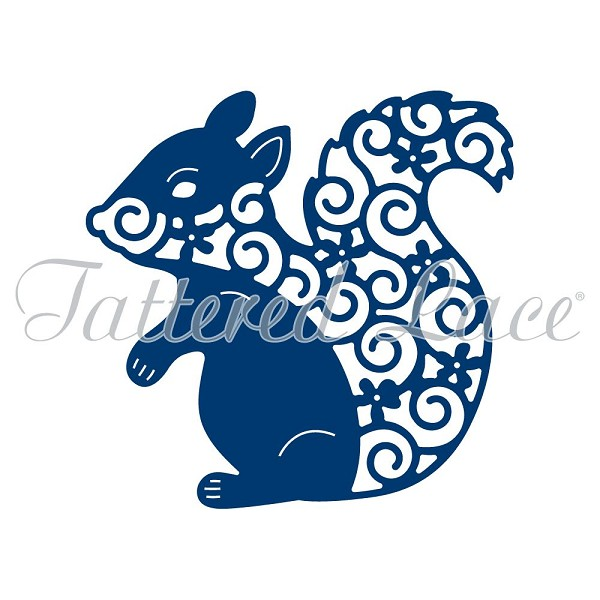 Tattered Lace - Die - Squirrel