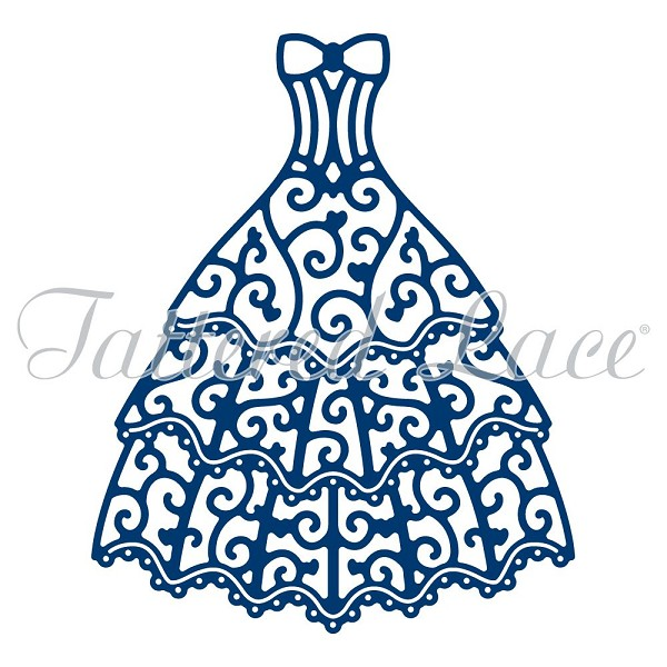 Tattered Lace - Die - Oscar Gown